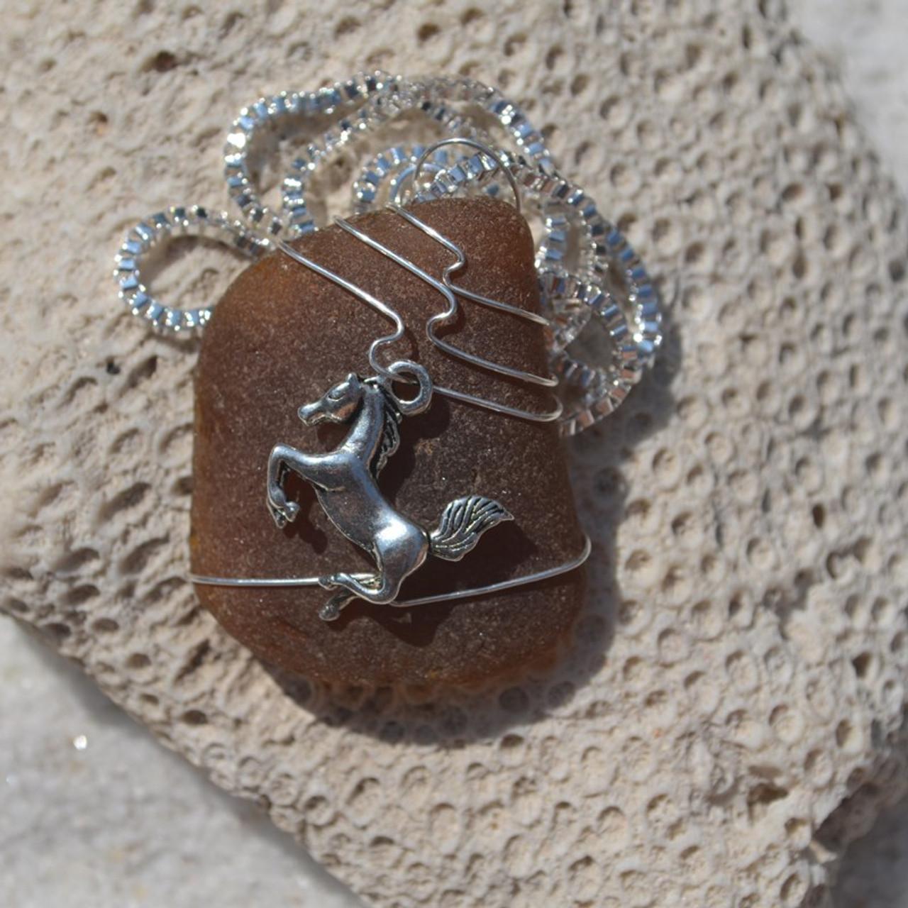 Handmade Horse Necklace