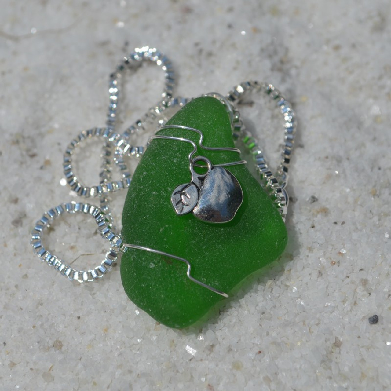 Pendant and Necklace for a Teacher