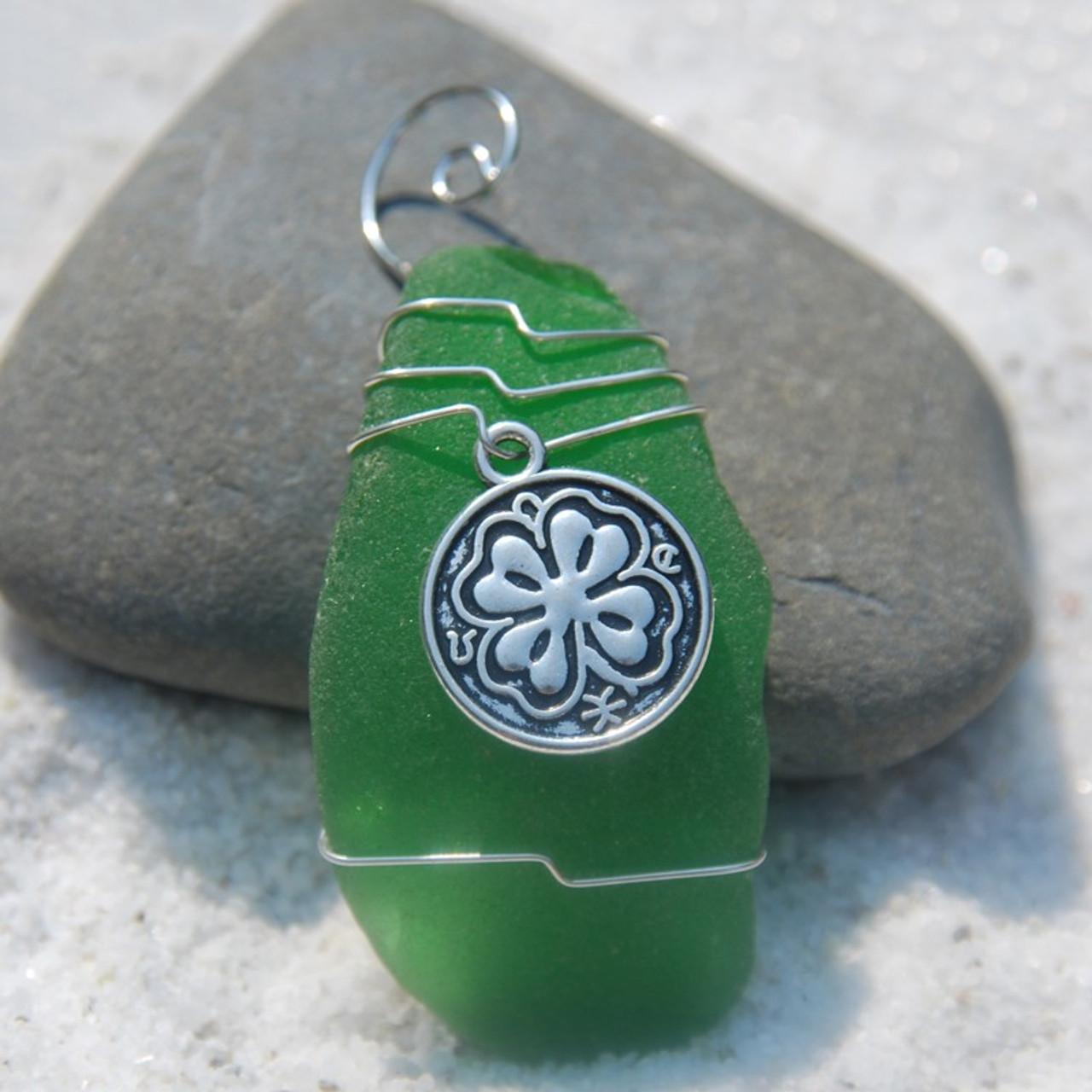 Irish Shamrock Christmas Ornament