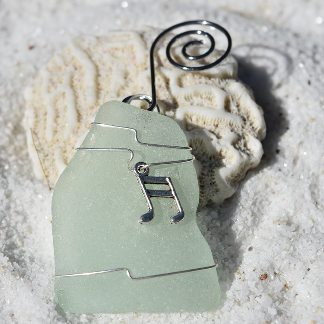Musical Note Christmas Ornament