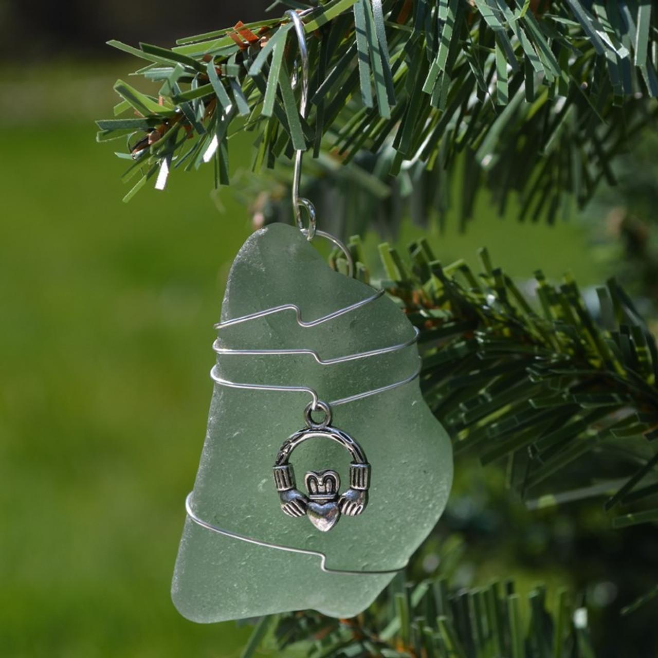 Irish Claddagh Christmas Ornament