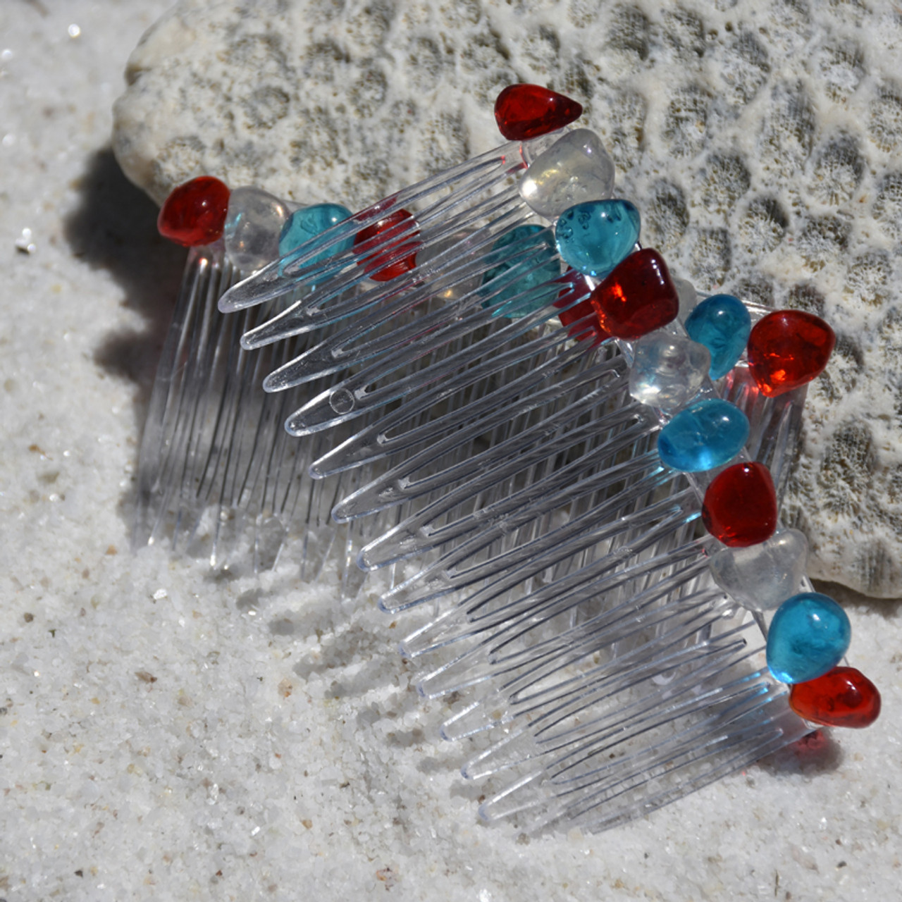 July 4th Hair Combs
