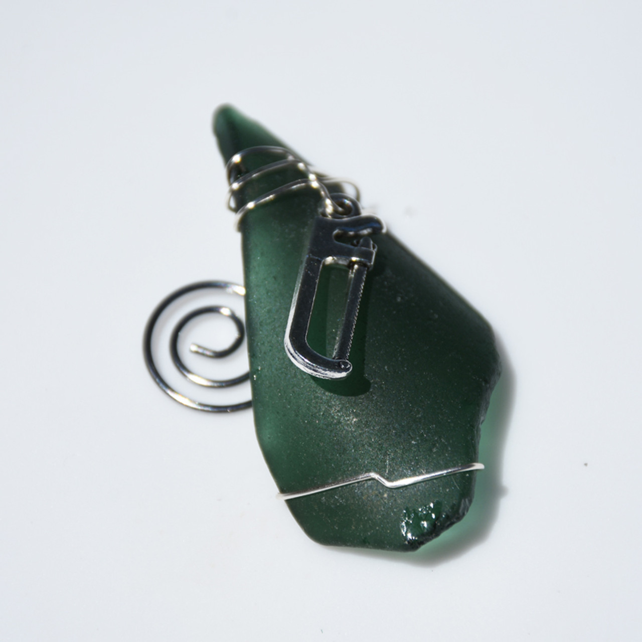 Hacksaw Ornament