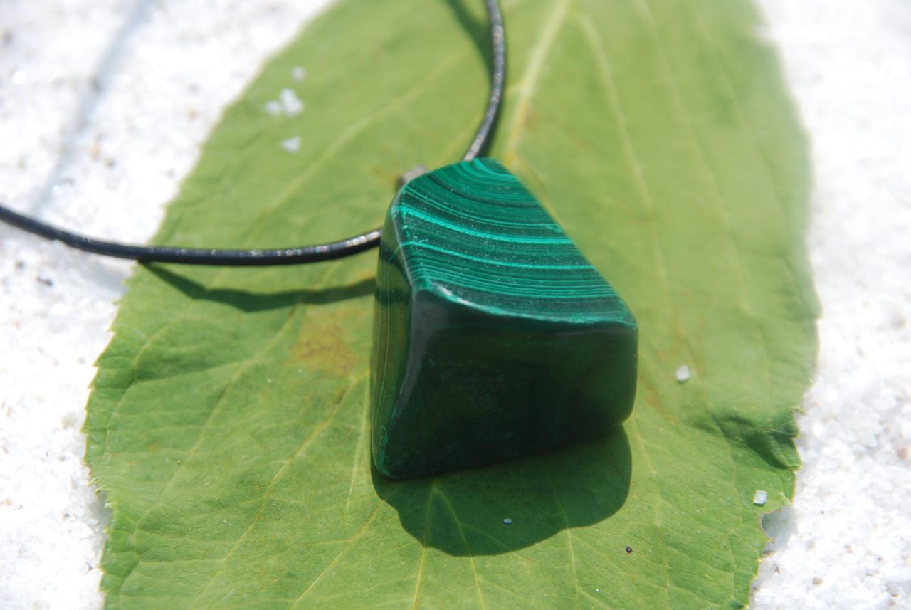 Malachite Stone Pendant