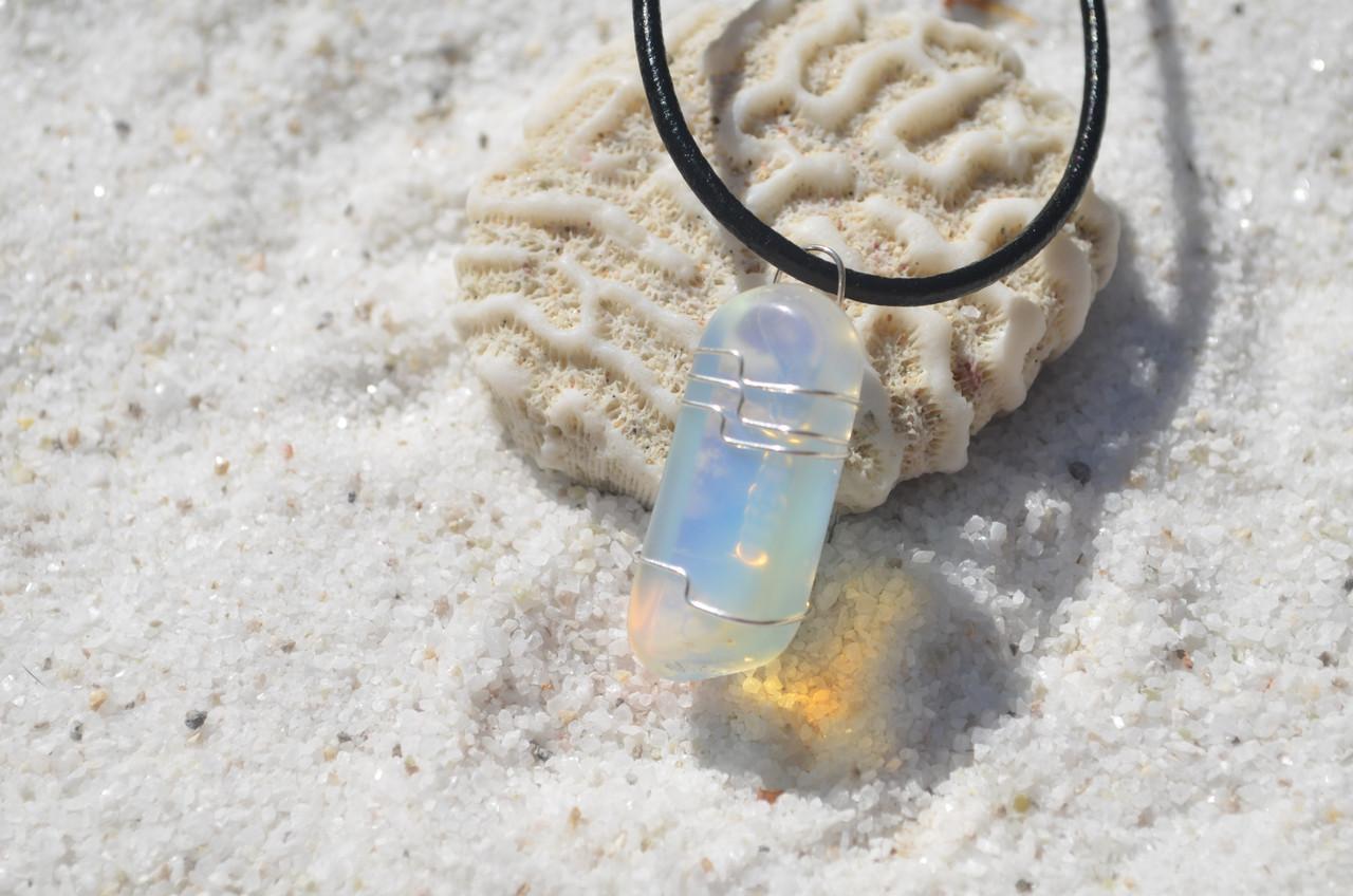 Opalite Stone Pendant