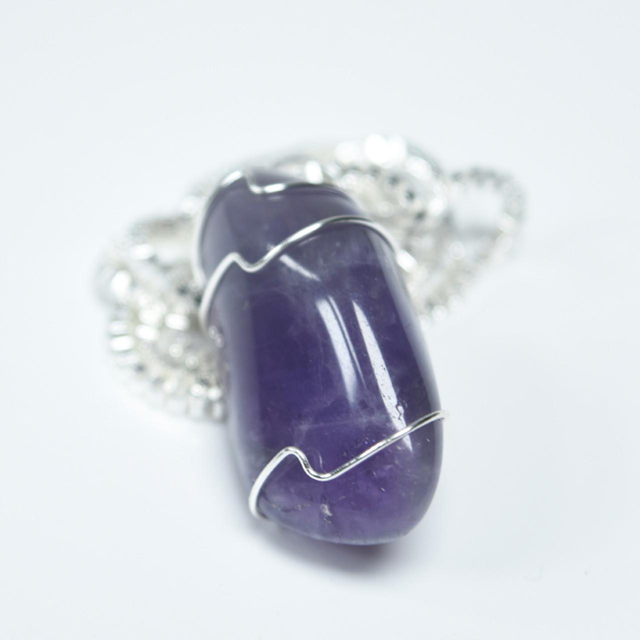 Amethsyt Stone Necklace