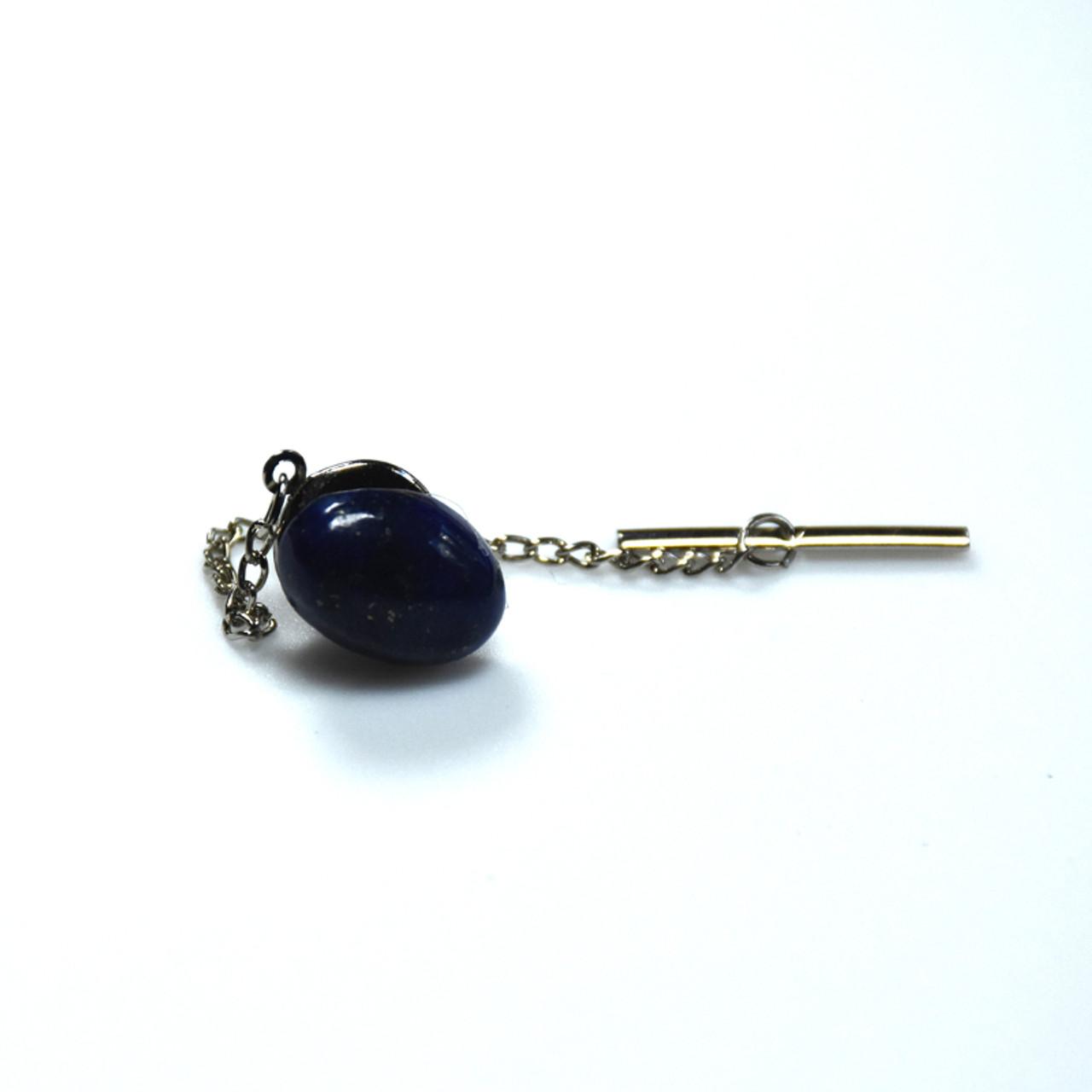 Lapis Lazuli Cabachon Tie Tack