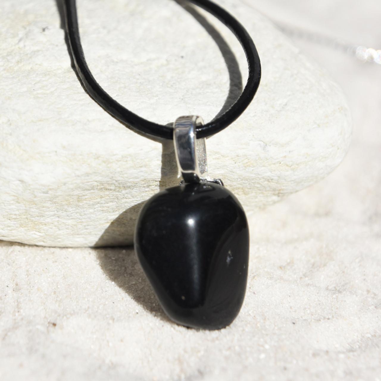 Apache Tears Stone Necklace