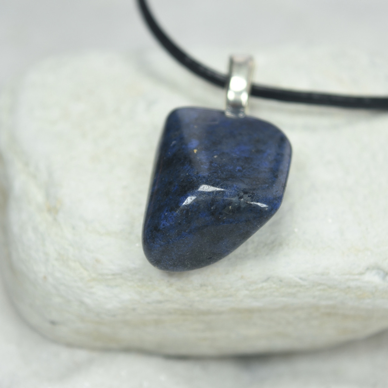 Dumortierite Stone Necklace