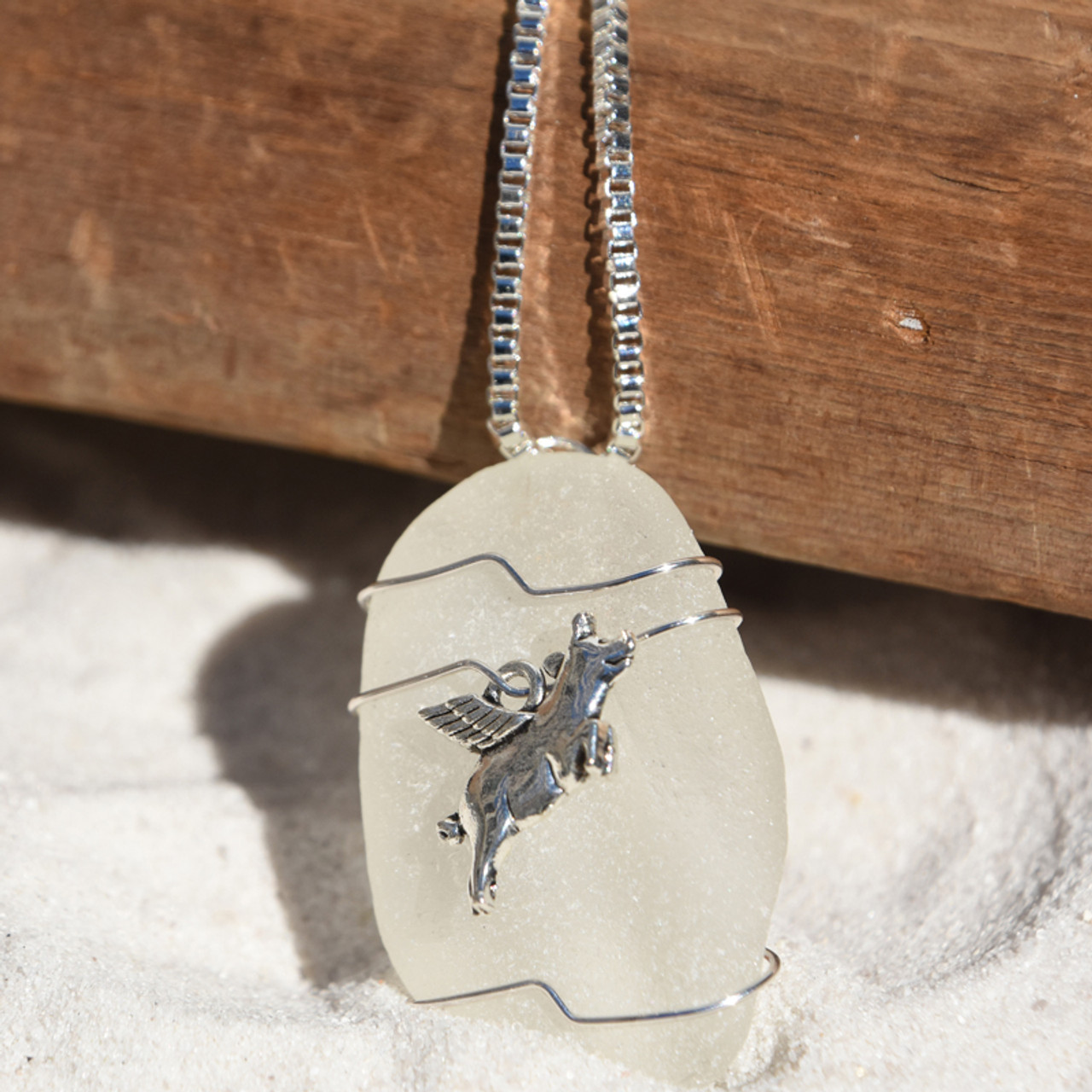 Pig Flying Necklace