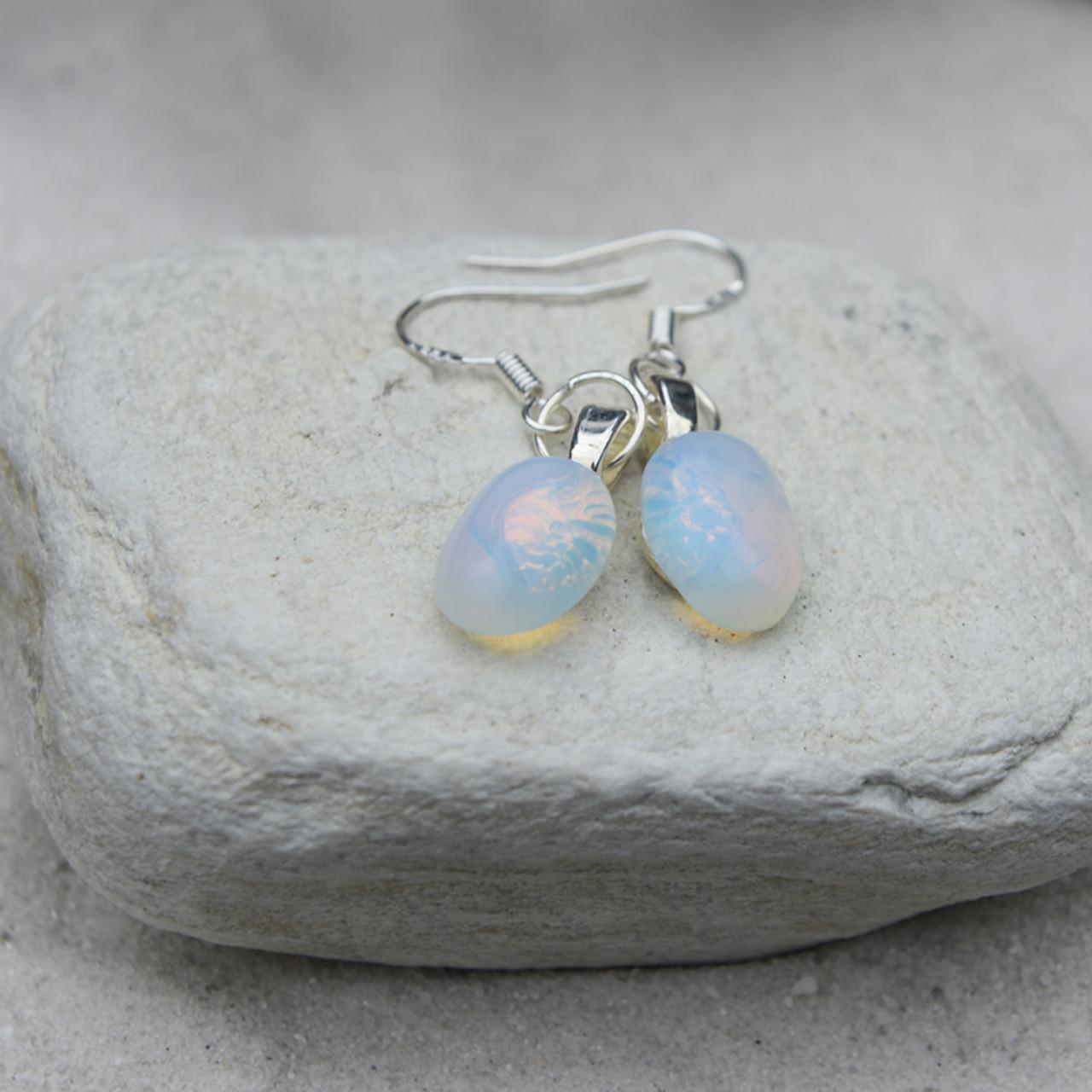 Oval Opalite Earrings