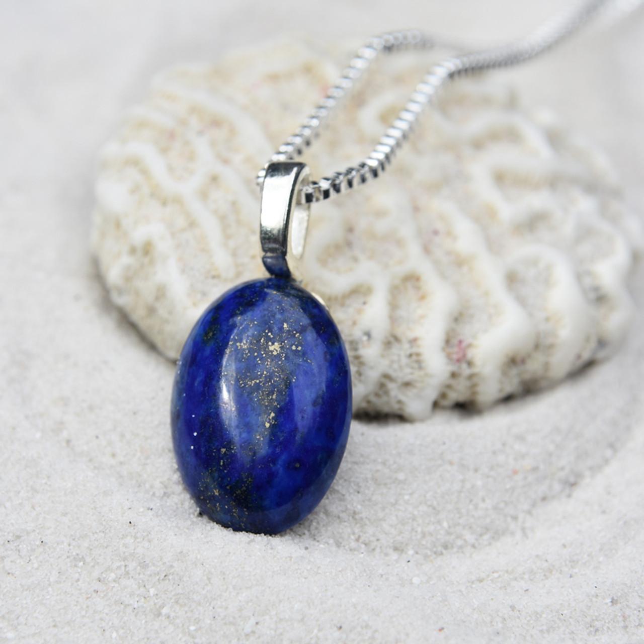 Blue Lapis Lazuli Pendant