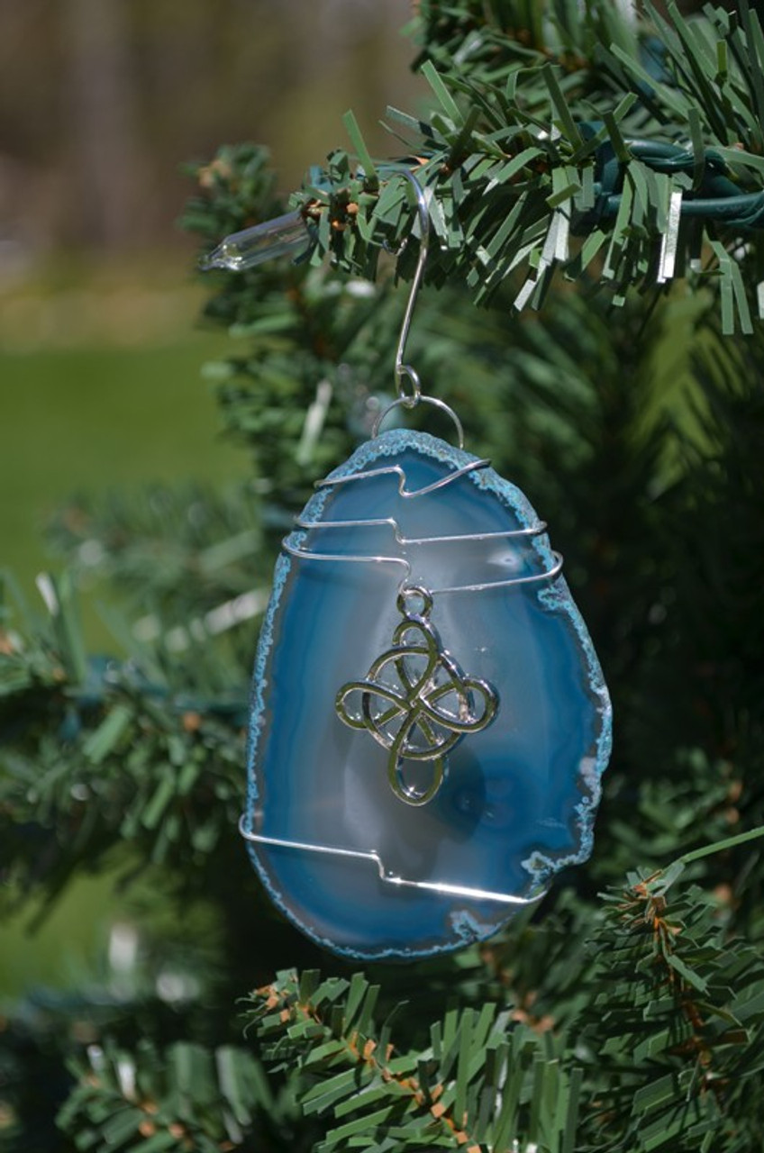 Celtic Knot Cross Suncatcher