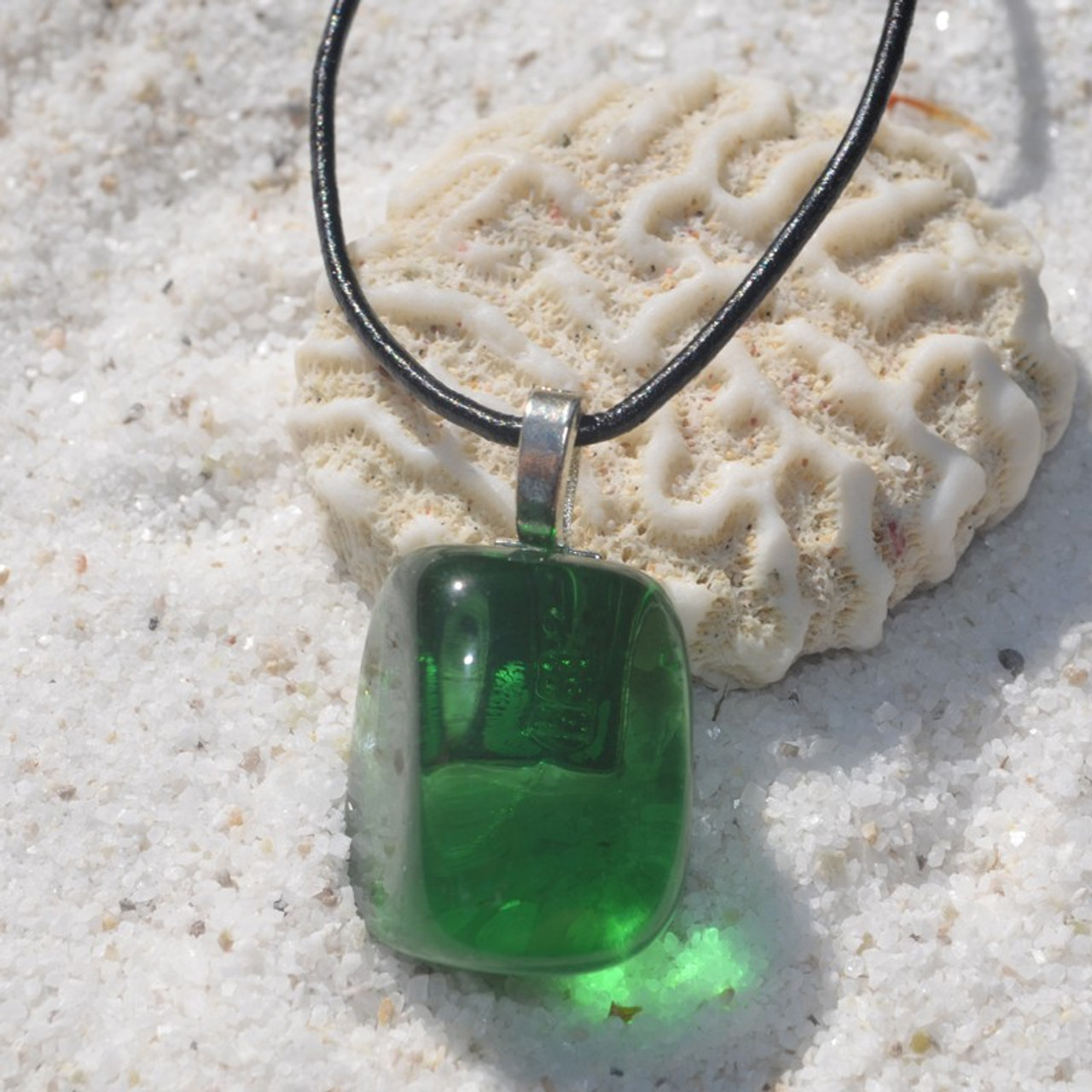 Green Obsidian Necklace