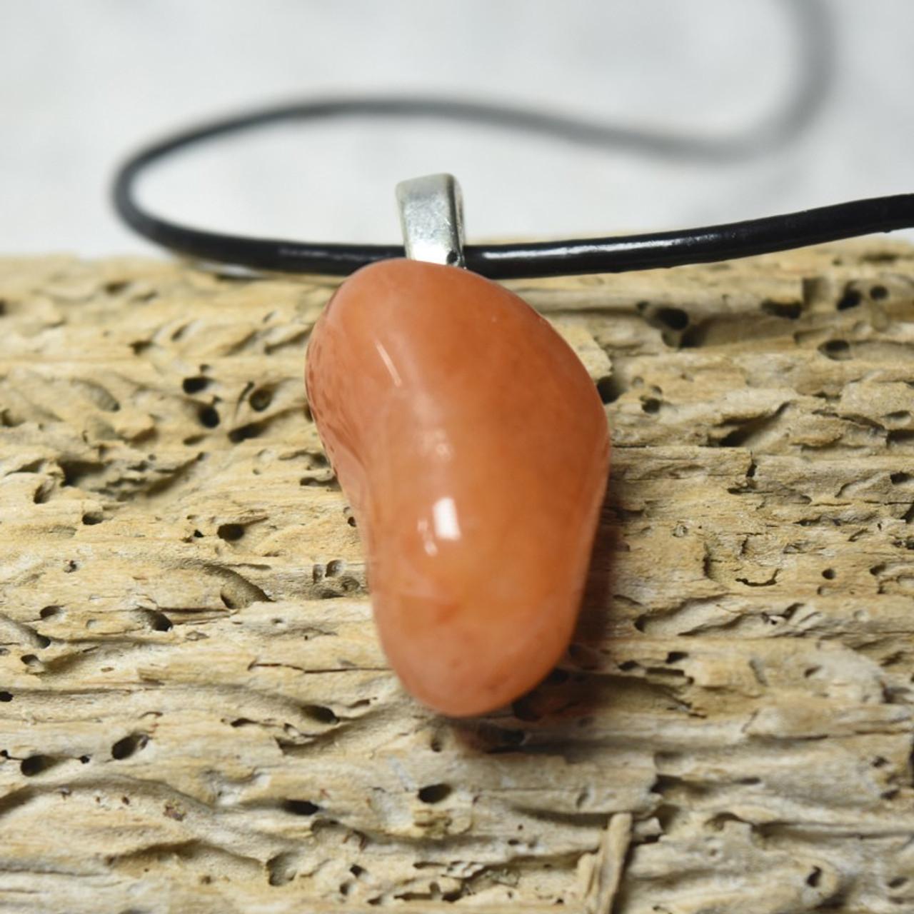 Peach Quartz Necklace