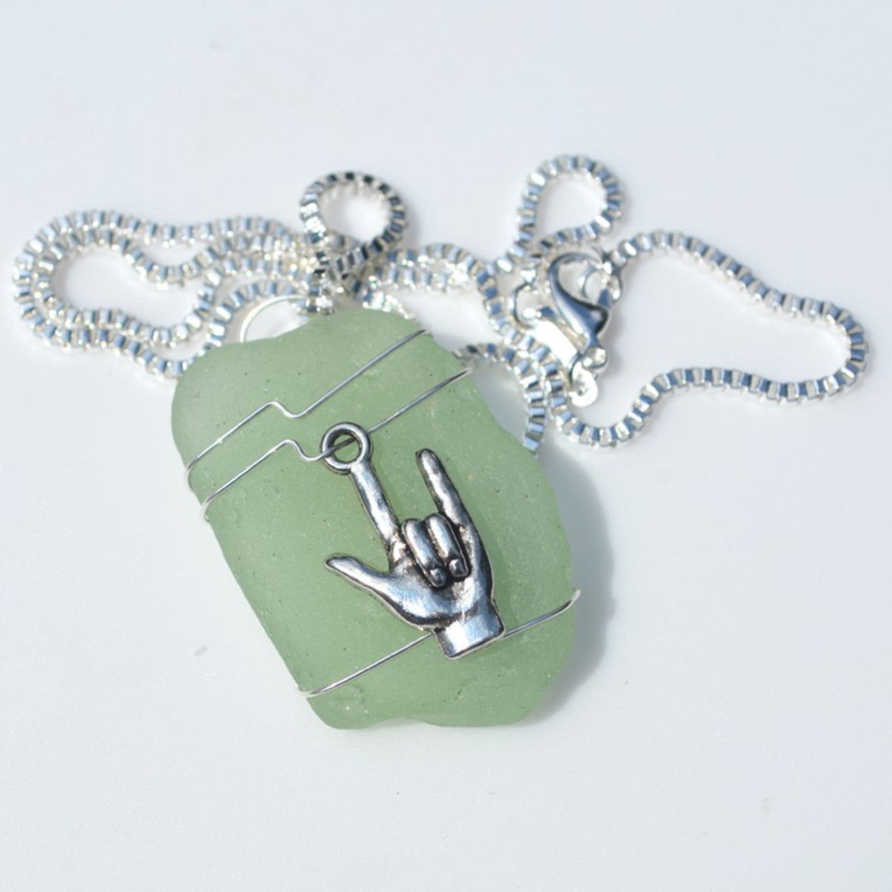 Sign Language Necklace