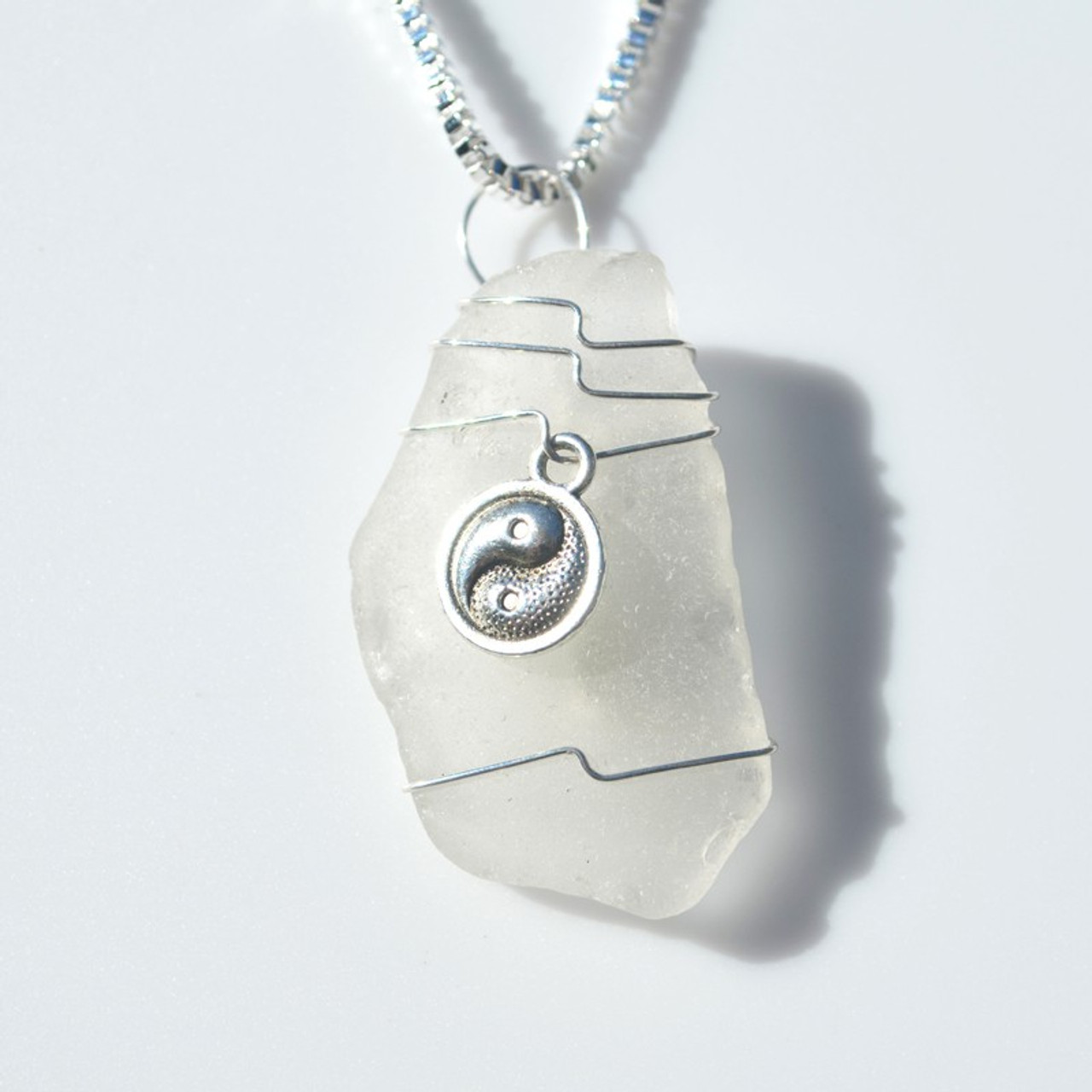 Yin Yang Pendant and Necklace