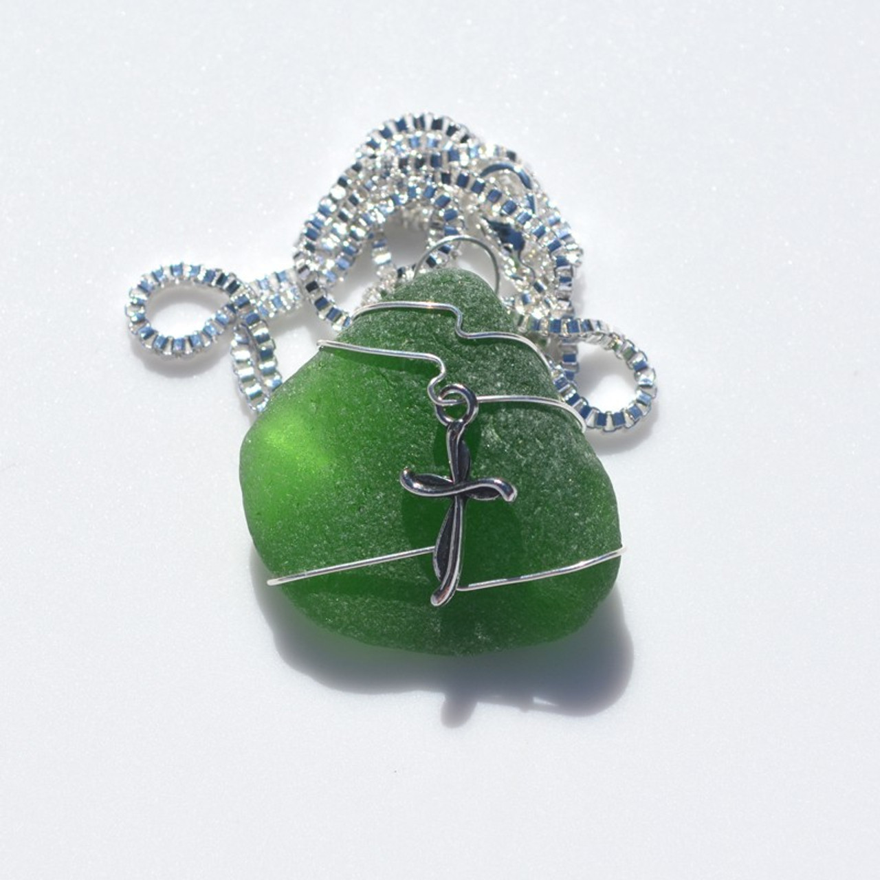 Christian Cross Pendant and Necklace