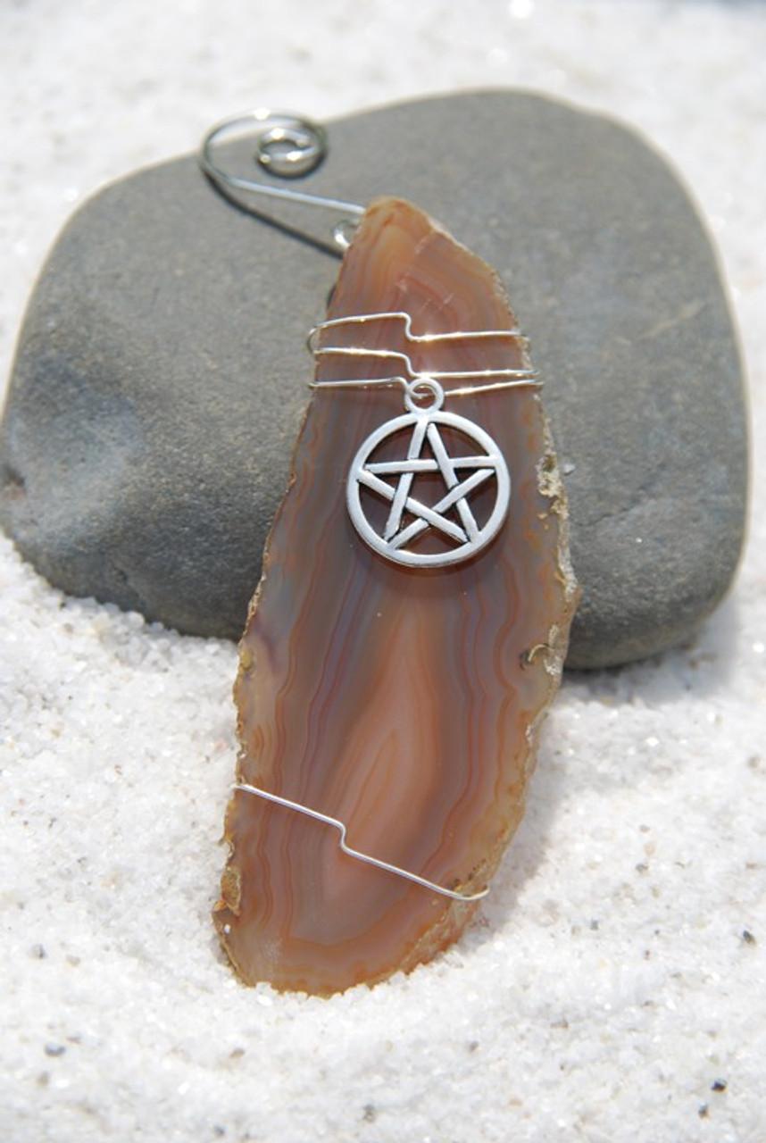 Wiccan Star Ornament