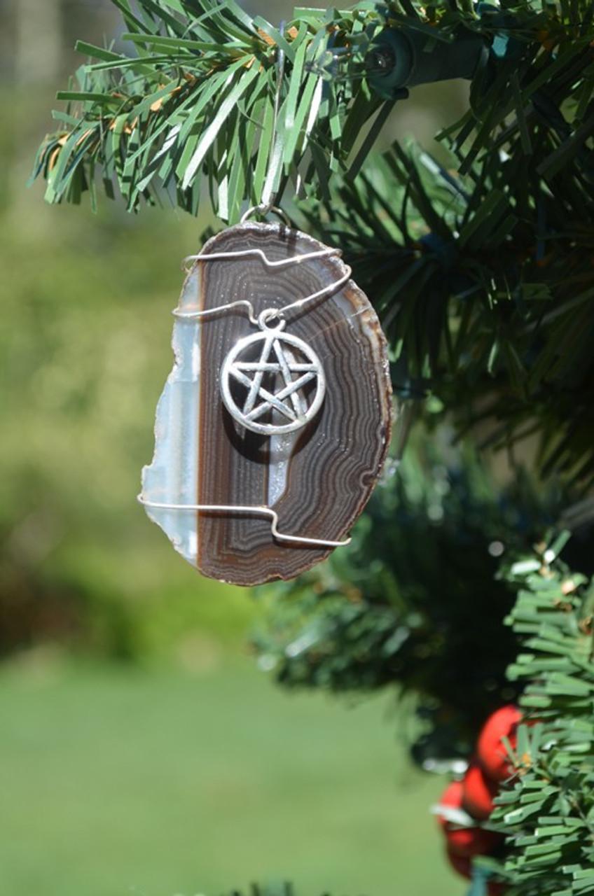 Pentagram Christmas Ornament