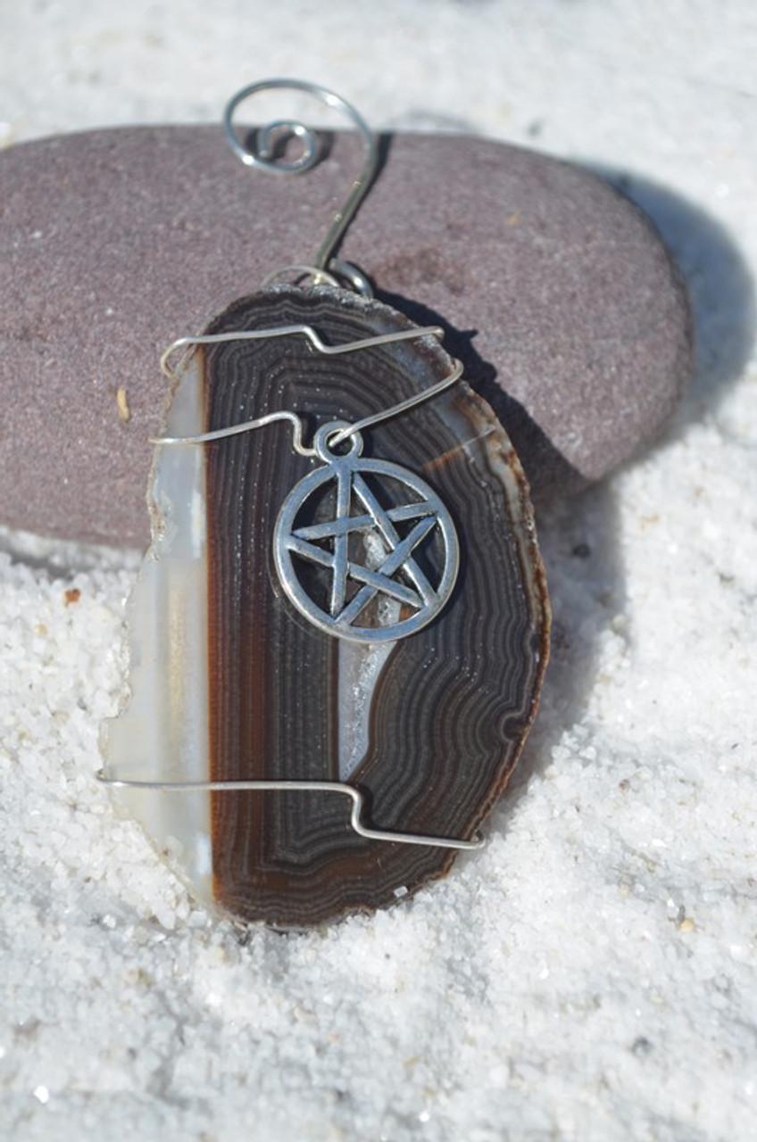 Pentacle Christmas Ornament
