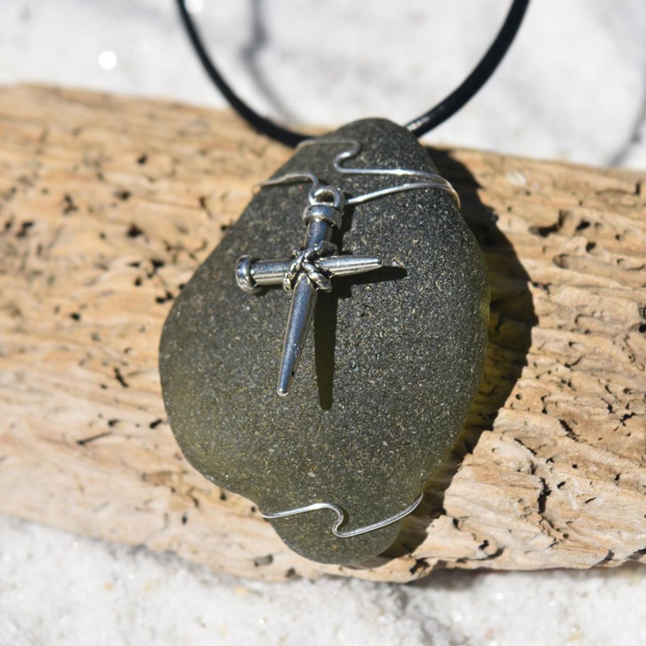 Nail Cross Pendant