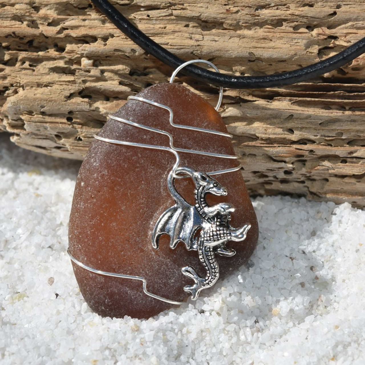 Dragon Pendant and Necklace