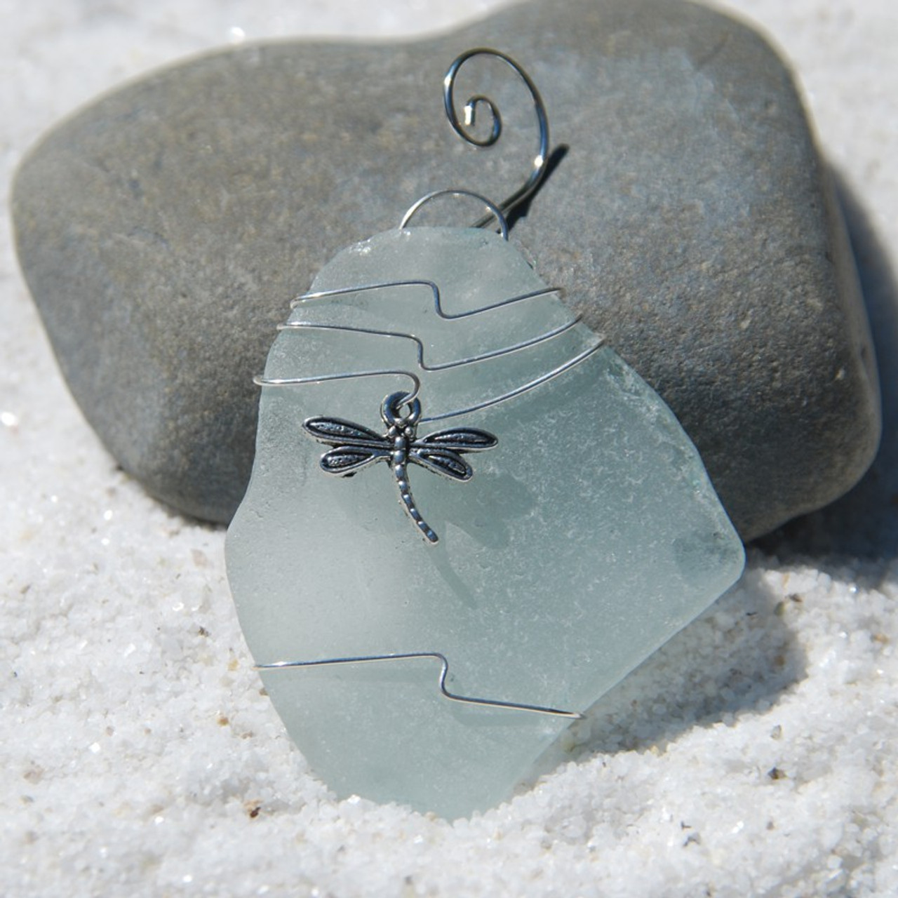 Wire Wrapped Dragonfly Ornament