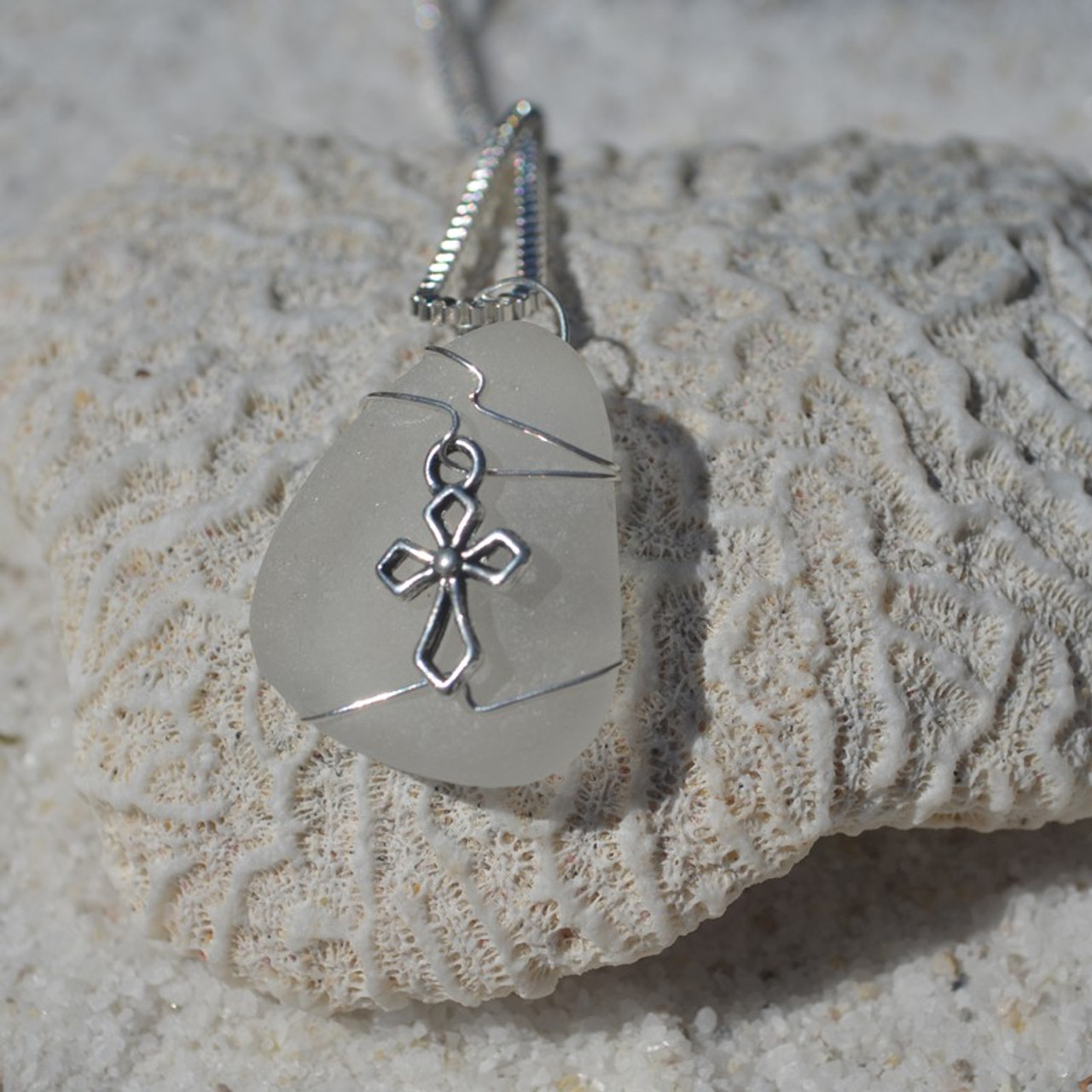 Cross Pendant and Necklace