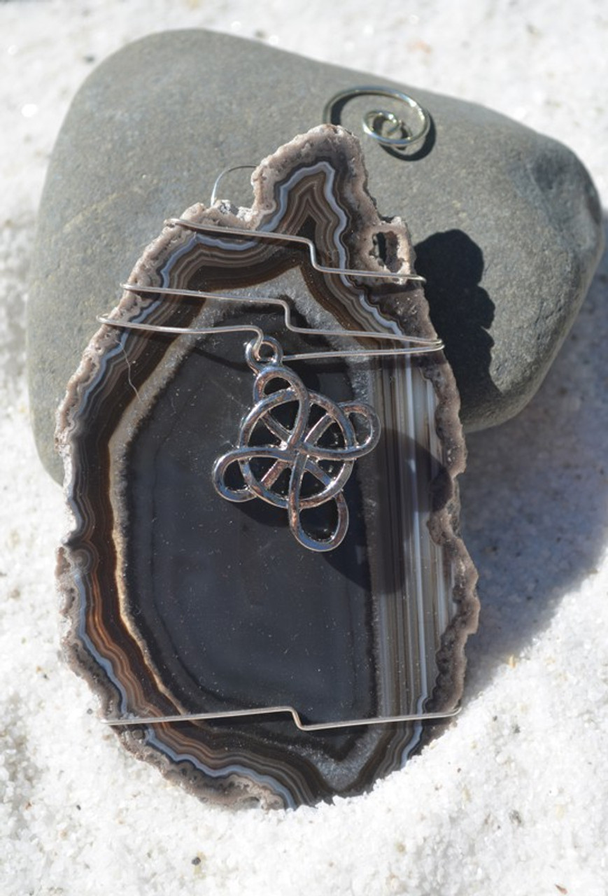 Wire Wrapped Celtic Cross Ornament