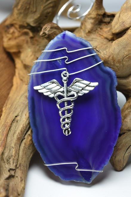 Medical Caduceus Christmas Ornament