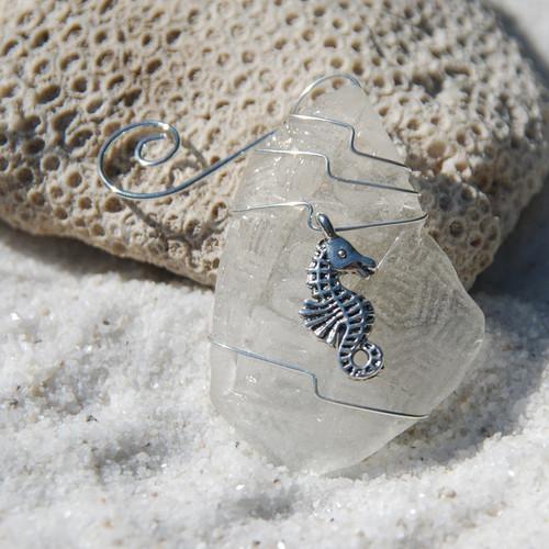 Sea Horse Christmas Ornament