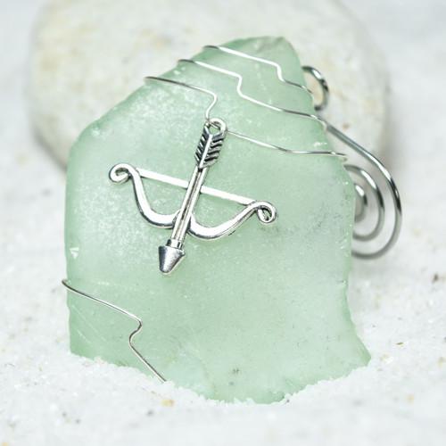 Bow and Arrow Christmas Ornament
