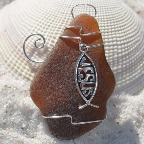 Jesus Fish Ornament