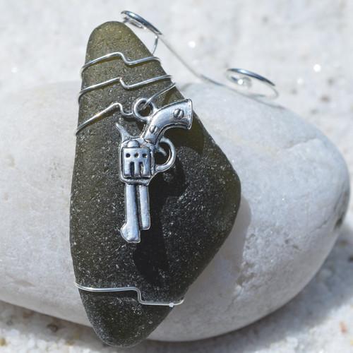 Revolver Ornament