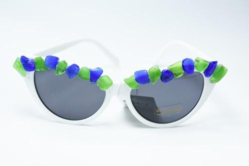 Decorative Sea Glass Sunglasses