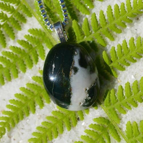 Tumbled Black Sardonyx Necklace