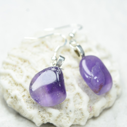 Amethyst Stone Earrings