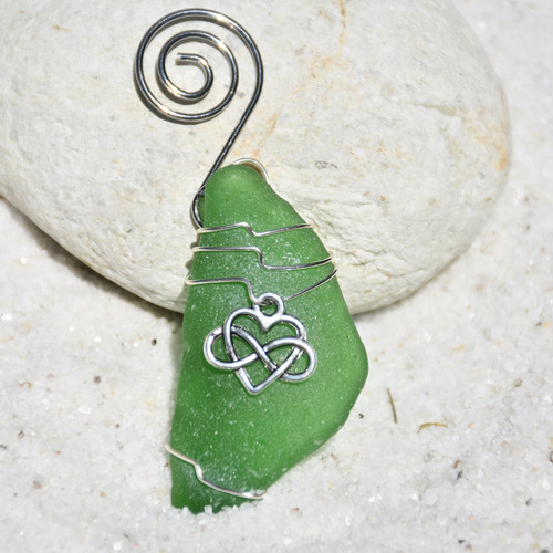 Infinity Heart Ornament