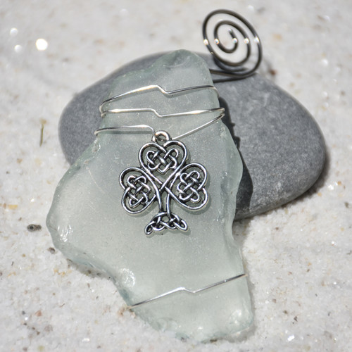 Celtic Knot Shamrock Ornament