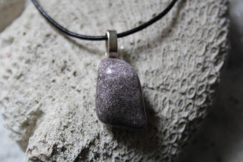 Tumbled Lepidolite Necklace