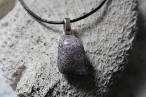 Tumbled Lepidolite Necklace