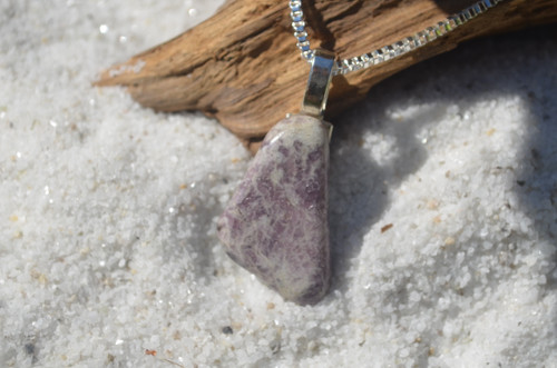 Lepidolite Stone Necklace