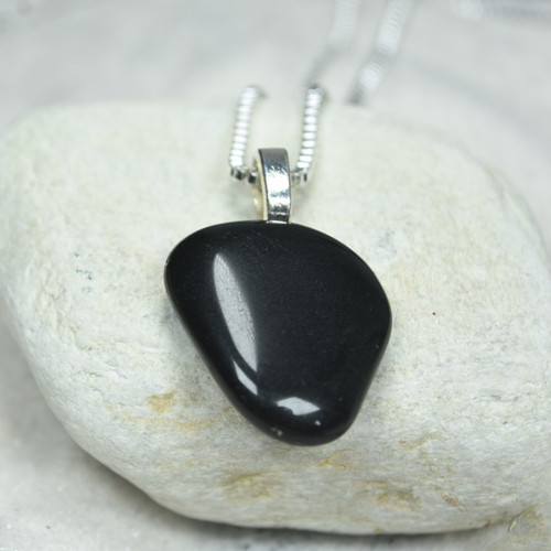 Apache Tears Stone Necklace