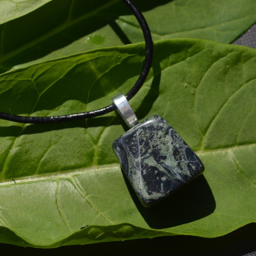 Kambaba Jasper Stone Necklace