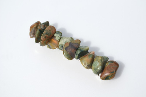 Rhyolite Stone French Barrette