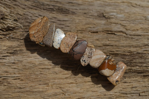 Picture Jasper Stone French Barrette