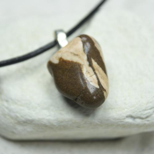 Zebra Jasper Stone Pendant