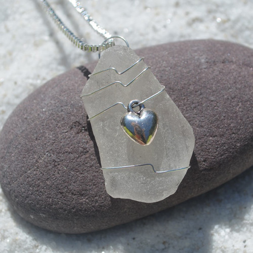 3-D Heart Necklace