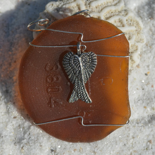 Wire Wrapped Angel Ornament